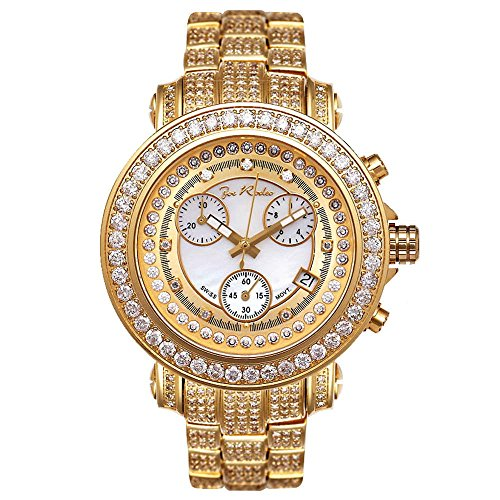 Joe Rodeo Diamond orologio da uomo - Rio Gold 9.5 Ctw