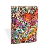 Flutterbyes Midi Lined Journal - Paperblanks - amazon.it