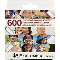 Exacompta Recambios Exacompta - Pack de 600 esquinas autoadhesivas para fotos, , color