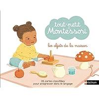 Tout petit Montessori - cartes classifiées : les objets de la maison - Dès 15 mois