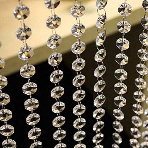 brightup diamante de cristal acrílico cortina de cuentas Strand Garla