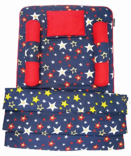 Toddler Bedding Set with Reversible Blanket