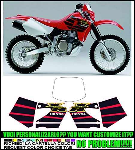 Kit adesivi decal stikers HONDA XR 650 R 2000 (ability to customize the colors)