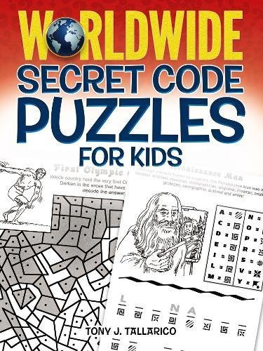 Worldwide Secret Code Puzzles for Kids (Dover Children's Activity Books)