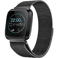 RanGuo, Smart Watch per uomini, donne e bambini, per sport all'aperto, impermeabile, Bluetooth, per smartphone con…
