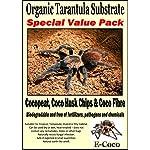 ORGANIC SUBSTRATE SOIL BEDDING FOR TARANTULAS, SPIDER TANK, ENCLOSURE, VIVARIUM, TARANTULA VIVARIA (SPECIAL PACK FOR… 6