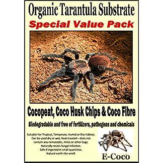 ORGANIC SUBSTRATE SOIL BEDDING FOR TARANTULAS, SPIDER TANK, ENCLOSURE, VIVARIUM, TARANTULA VIVARIA (SPECIAL PACK FOR… 16
