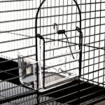 Finca Powder-Coated Metal Bird Cage - Comes Complete with Accessories and with Narrow Bar Spacing Suitable for Smaller Bird Species 11