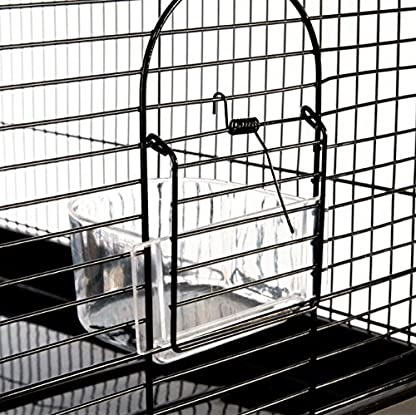 Finca Powder-Coated Metal Bird Cage - Comes Complete with Accessories and with Narrow Bar Spacing Suitable for Smaller Bird Species 5