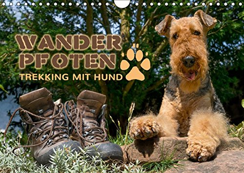 Wanderpfoten. Trekking mit Hund (Wandkalender 2019 DIN A4 quer): Wander- und Trekkingtouren mit Hund (Monatskalender, 14 Seiten ) (CALVENDO Tiere)