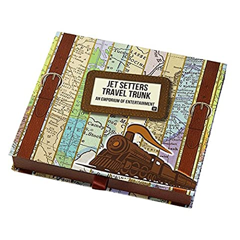 Talking Tables mondaines Wise Jet Setters de voyage de Fête Jeu Quiz, carte, multicolore