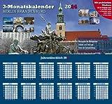 Berlin-Brandenburg 2014 3-Monatskalender: Praktischer Monatsplaner mit landesspezifischen Kalendarium - Jörg Neubert