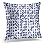 Best almohada Royal Hotel - Throw Pillow Cover Gray Patio White Navy Royal Review