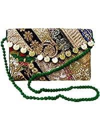 Kalra creaciones de la mujer tradicional con bordado de terciopelo hecho a mano indio étnico zapatos, color, talla 41 1/2 EU M