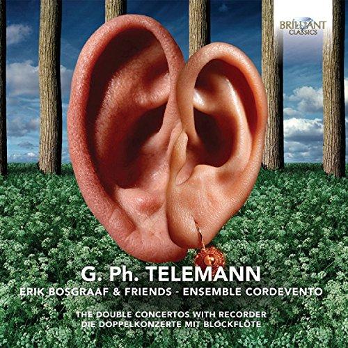 Telemann:die Dopplekonzerte mit Blockflöte -