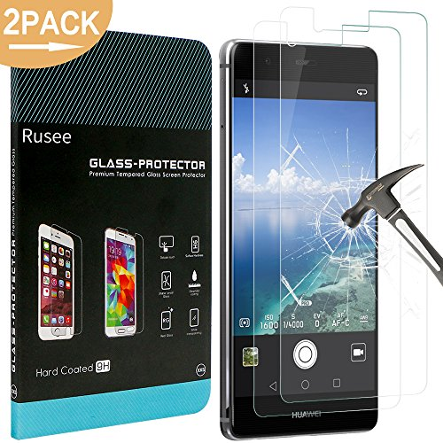 2-pack-huawei-p9-screen-protector-rusee-huawei-p9-tempered-glass-high-defintionbubble-free9h-hardnes