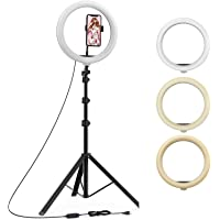 """Venganza 12 Inches Big LED Ring Light for Camera, Phone tiktok YouTube Video Shooting and Makeup, 12"""" inch Ring Light…"""