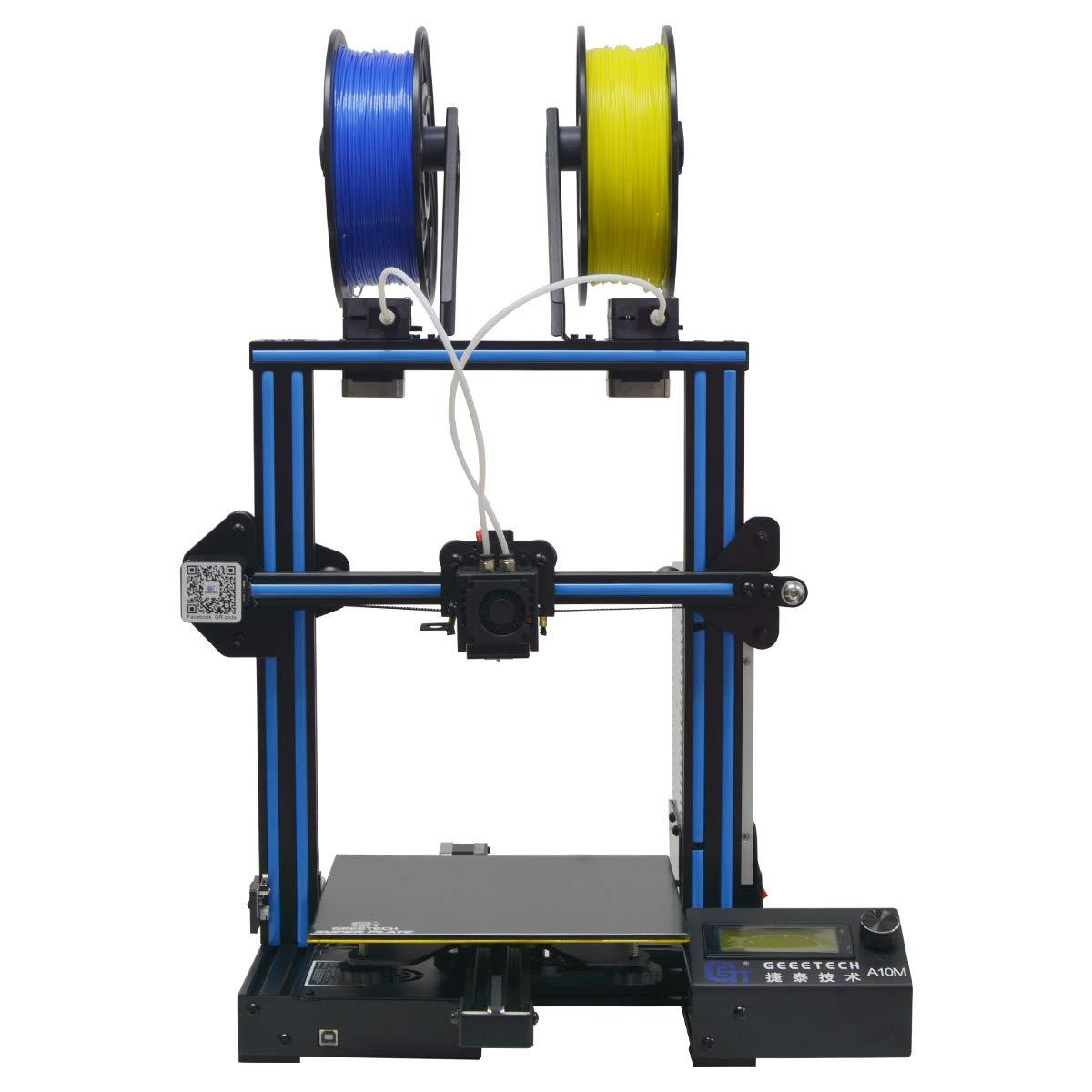 GIANTARM geeetech Imprimante 3D A10M avec Impression Multi-Couleurs, Taille d'impression 220 * 220 * 260mm³