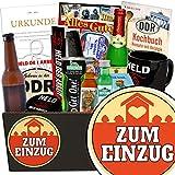 Zum Einzug | Mann Geschenkset | Geschenk Idee | Zum Einzug | Männer Box | Geschenk zum Einzug Partner | INKL DDR Kochbuch