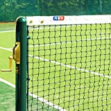 EuroMarkt Vermont Filet de Tennis de 2mm | Taille Règlementaire de Tennis Double [Net World Sports]