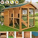 Stall für Kleintier Hühner Hasen Huhn