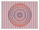 Wandteppich Wandbehang Indisch Wandtuch Mandala Hippie Teppich Tagesdecke Mandala Tuch Wand Strandtuch Tücher Indisches Wandbehänge Wandtücher Tagesdecken Boho Indien Wandteppiche 150CM X 150CM