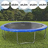 Physionics Trampolin Outdoor | in verschiedenen Durchmessern: Ø 3,05 m – 4,9 m | Jumper, Gartentrampolin, Kindertrampolin - Ø 4,3 m