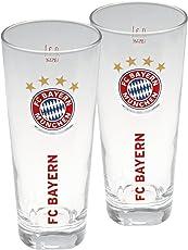 FC Bayern München Fanglas 2er Set 0,3 l
