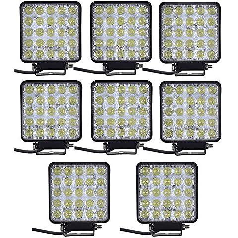 yunt impermeabile 75W Quadrato Luce di lavoro LED Flood lampade Offroad Auto, camion, barca Jeep ATV SUV Running Lampada LED da lavoro a LED moderno