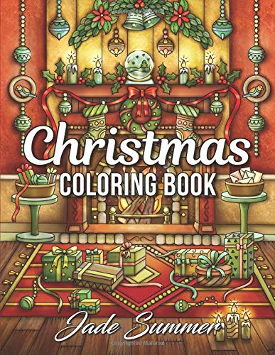 Christmas Coloring Book: An Adult Coloring Book with Fun, Easy, and Relaxing Coloring Pages por Jade Summer