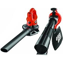 Black+Decker GW2200-QS - Aspirador/soplador/triturador (35 l de capacidad, 2200 W)