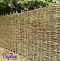 Hazel hurdles fencing panel 3ft x 6ft