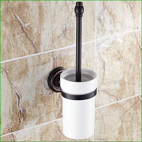 die kupfer - bronze schwarze handtuchhalter handtuch bar wc bürste toilettenpapierhalter schneider bad zahnbürste inhaber - anzug,die klobürste