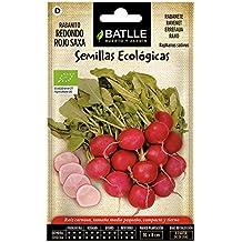 Semillas Ecológicas Hortícolas - Rabanito redondo rojo Saxa - ECO - Batlle