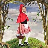 Kostümplanet Rotkäppchen Kostüm Kinder Rotkäppchenkostüm Kinderkostüm Größe 104 Test