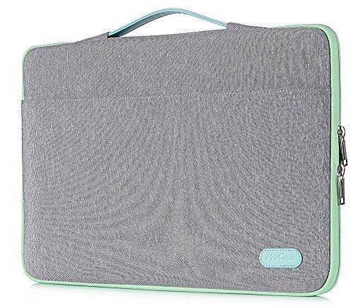 """ProCase 14-15.6 Zoll Hülsen-Abdeckungs-Tasche, Ultrabook Notebook Tragetasche Handtasche für 14\""""15\"""" Samsung Sony ASUS Acer Lenovo Dell HP Chromebook Computer -Hellgrau"""