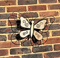 Giant Metal Dragonfly / Butterfly Home Garden Wall Fence Decoration Art Ornament from The Magic Toy Shop