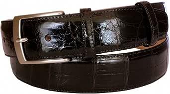ESPERANTO Cintura in Coda di Coccodrillo altezza 4 cm