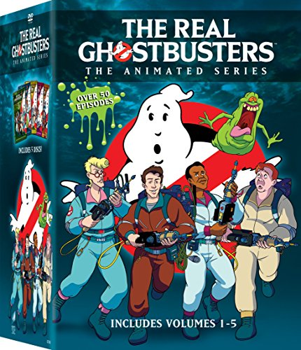 REAL GHOSTBUSTERS 1-5 Boxset