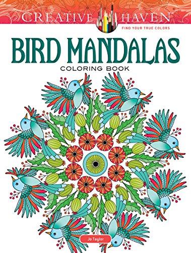 Creative Haven Bird Mandalas Coloring Book (Colouring Books) por Jo Taylor