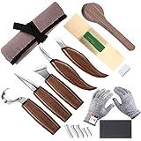 Outil de sculpture pour bois, couteau à crochet, couteau à bois, couteau à sculpter, couteau à biseau, couteau pour cuillère,