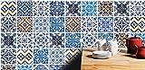 Adhesivos para Azulejos - Paquetes con 32 (20 x 20 cm, Azulejos Hidráulicos   Decoración de Interiores   Diseño Hidráulico   Azulejos para Pisos   Hidráulicos Decorativos   Decoración Contemporánea)