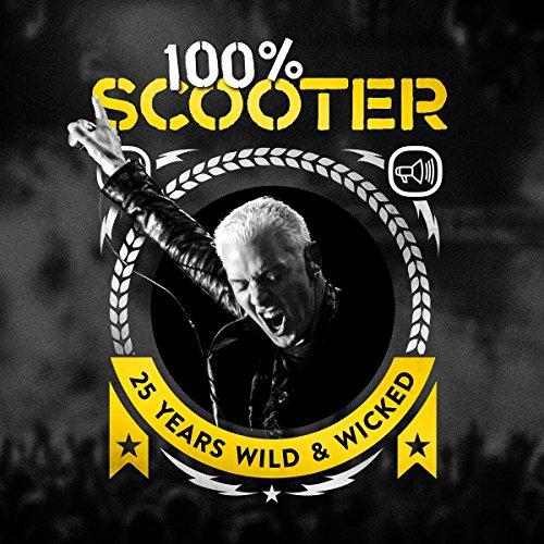 Preisvergleich Produktbild 100% Scooter-25 Years Wild&Wicked(Ltd.5cd-Digipak)
