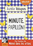 minute papillon livre audio 1 cd mp3