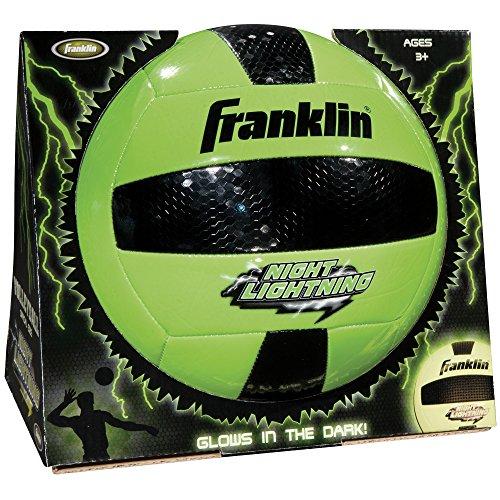 Franklin Sports Night Lightning Volleyball (Offizielle Größe)