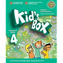 Kid's Box Level 4 Teacher's Book Updated English for Spanish Speakers Second Edition - 9788490362358
