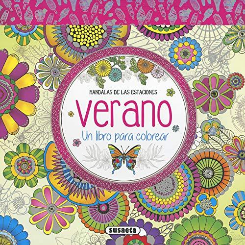 Verano. Un libro para colorear (Mandalas de las estaciones)