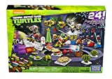 Teenage Mutant Ninja Turtles Mega Bloks TMNT Toy Xmas Advent Calendar - Includes 158 Pieces