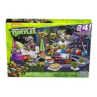 Mattel Mega Bloks dpf85–Teenage Mutant Ninja Turtles Calendario de Adviento