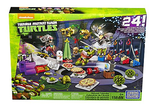 Mattel Mega Bloks DPF85 - Teenage Mutant Ninja Turtles Adventskalender (Ninja Turtles Mutanten)